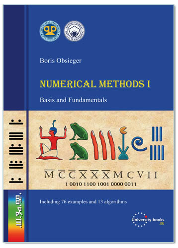NUMERICAL METHODS I – BASIS AND FUNDAMENTALS, B. Obsieger