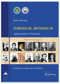 NUMERICAL METHODS III - APPROXIMATION OF FUNCTIONS